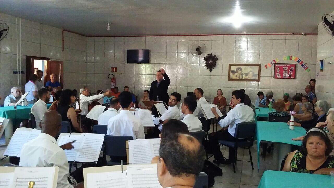 APRESENTAÇÃO DA ORQUESTRA SINFÔNICA DE BARRETOS